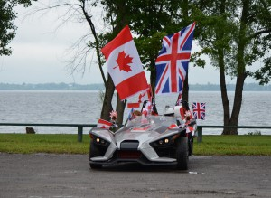 Best Motorized Vehicle - Morgan Tulk Polaris Slingshot