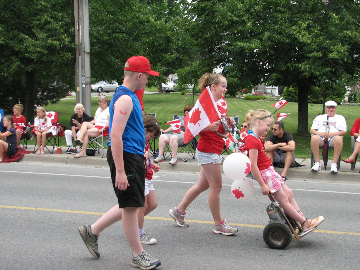 parade bath canada day