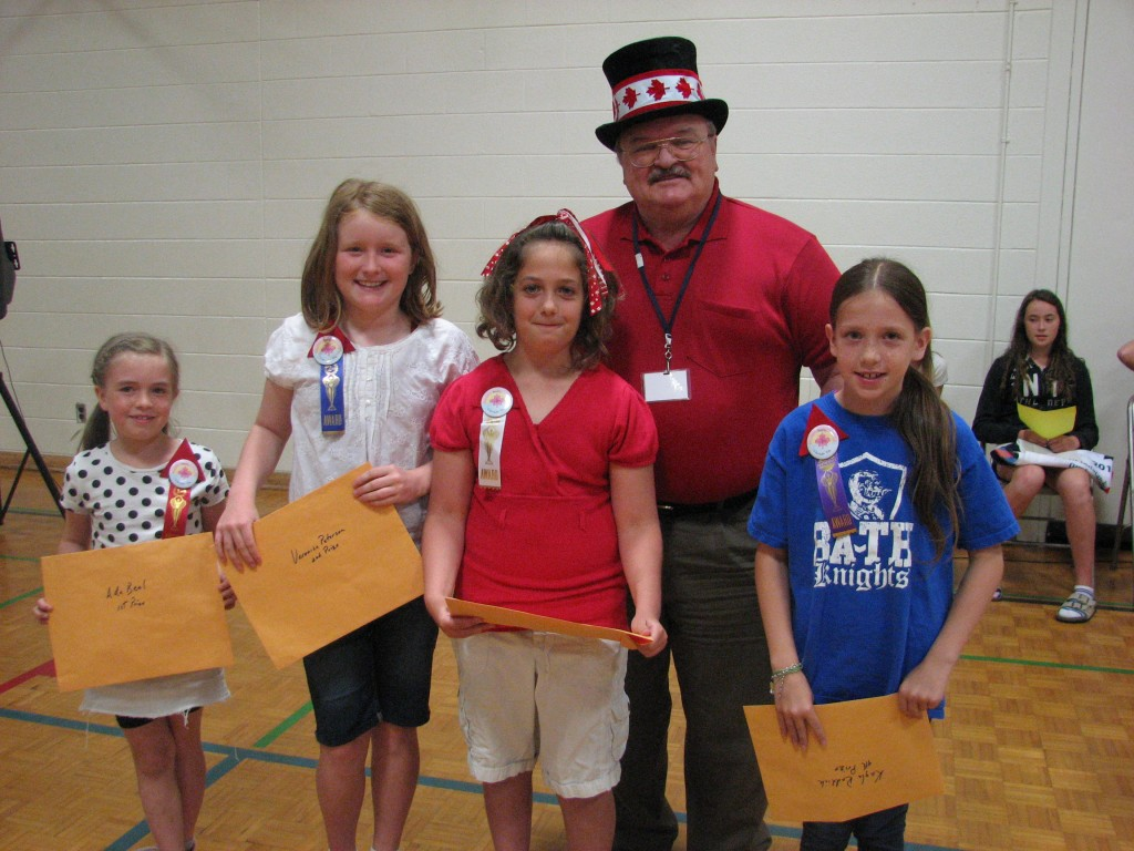 The 2014 Canada Day Button Contest Winners