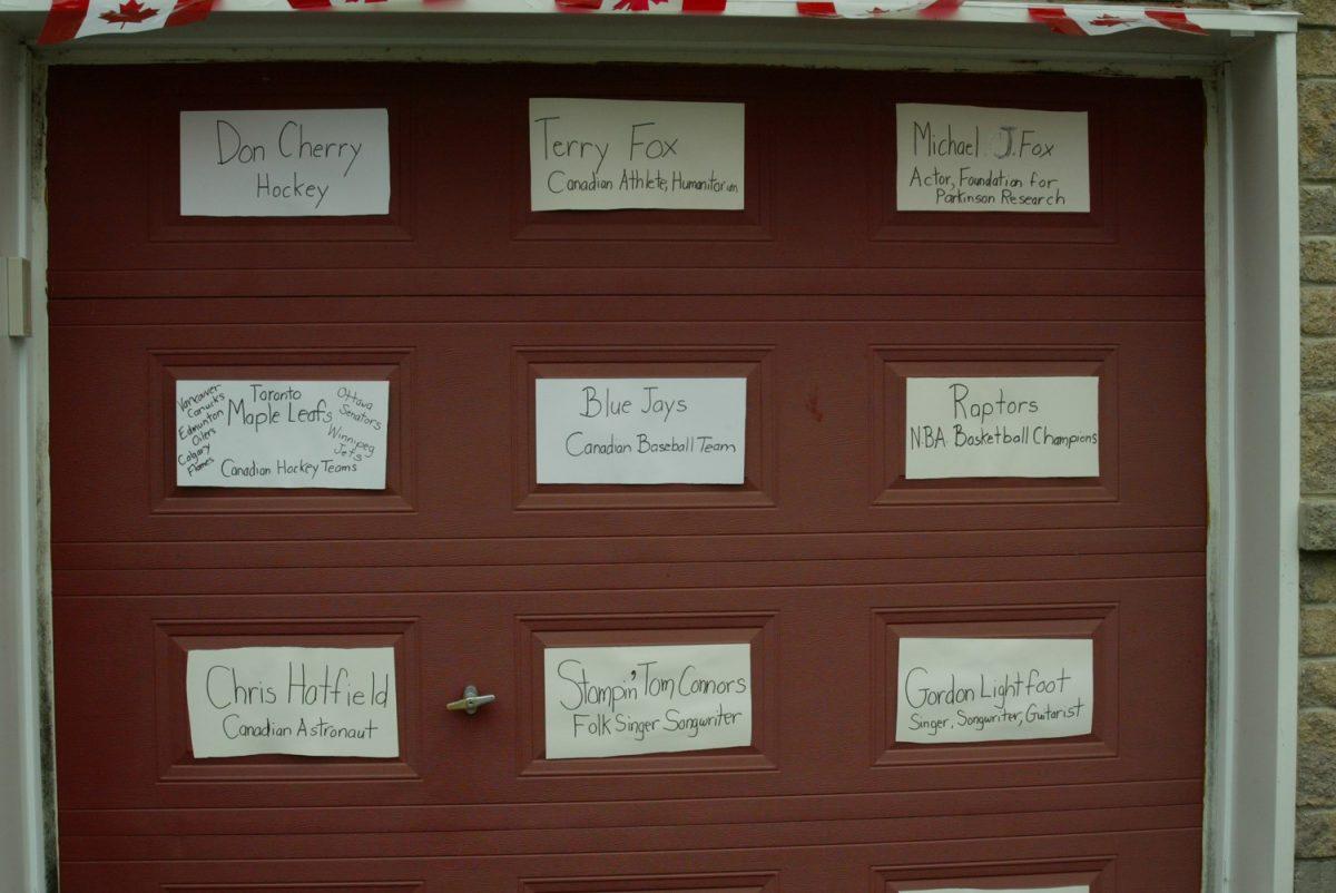 Doorways Decorating Contest Winners
